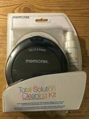 Memorex Total Cleaning Solution cleaning kit for CD/DVD