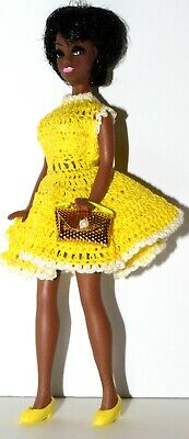Topper Dawn Doll  Dale w/ OOAK Knit Dress HTF Clone Fashion Shoes, Purse Lot 3