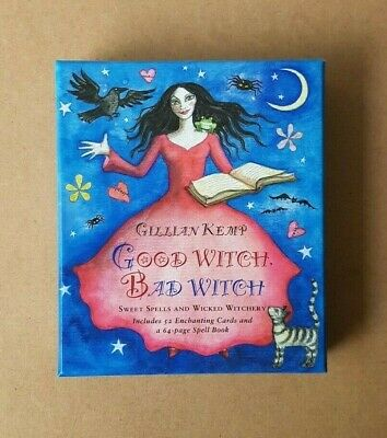 Good Witch Bad Witch By Gillian Kemp Enchanting Cards And Spell Book Set