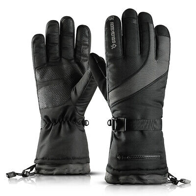 -40℃ Winter Warm Thermal Ski Snow Gloves Touchscreen Snowboard Hiking Waterproof
