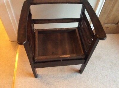 Antique Piano Stool By Wilson Peck With Under Seat Storage - Variable Height