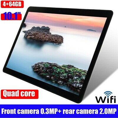 NEW 10.1 pollici 4GB+64GB Tablet PC bluetooth Android 6.0 Quad-core WIFI 2 SIM