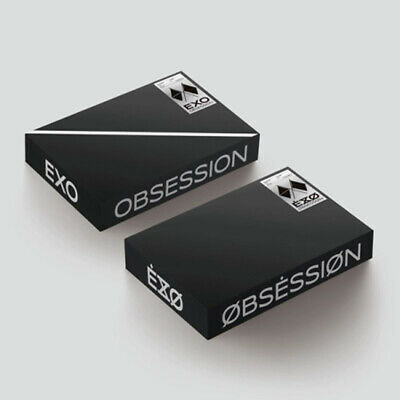 EXO 6th Album [OBSESSION] CD PhotoCard PhotoBook Poster Photo FREE TRACKING NUMB