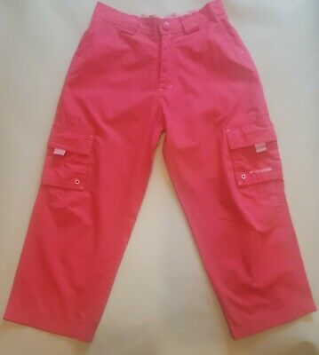Girls Trousers Pink  Age 5 - 6 Cargo Mountain Life