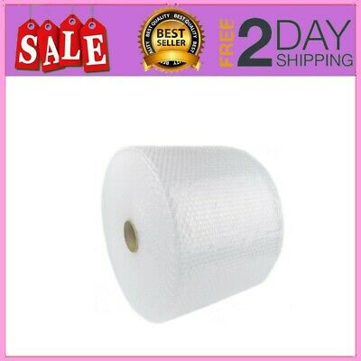"""Bubble Cushioning Wrap 3/16"""" 700 ft. x 12"""" Perforated Every 12"""" Small Padding"""