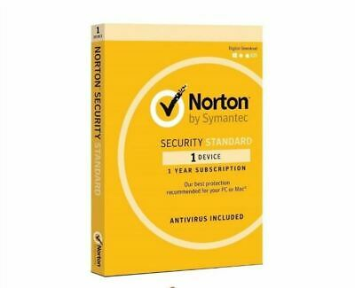 Norton Internet Security Standard 2020 1 device 1 Year Fast Email License Key