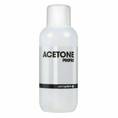 Salon System Profile Acetone Nail Polish Remover Cleanser Cleaner 1 LITER