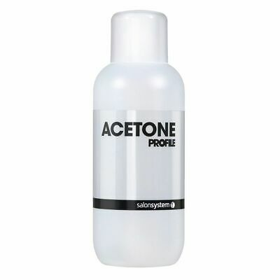 Salon System Profile Acetone  Gel Nail Polish Soak-Off Remover Cleanser 500 ML