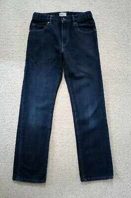 Gap Kids 1969 Boys Dark Blue Denim Slim Fit Straight Leg Jeans Age 12 years VGC