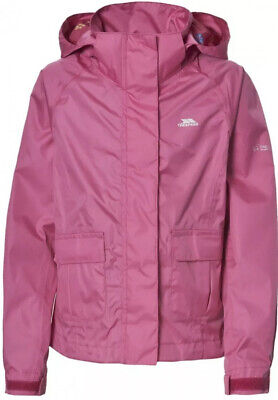 "Gorgeous BNWT Twister Girls Pink ""TRESPASS"" Waterproof Jacket Age 3-4 Years"