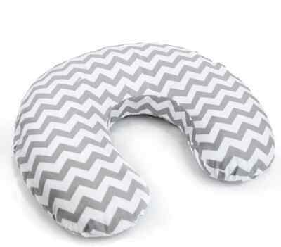 Feeding Pillow Baby Breast Pregnancy Maternity + Removable Cover Zig Zag