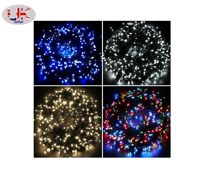 Mains Powered Led Indoor Outdoor Christmas Tree Lights Xmas