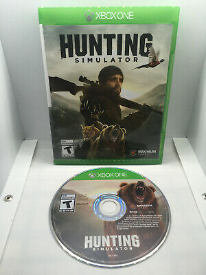 Hunting Simulator - Complete CIB - Excellent Disc - Xbox One