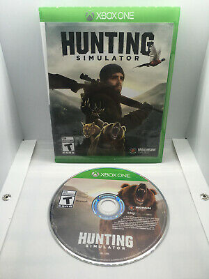 Hunting Simulator - Complete CIB - Excellent Cond. - Xbox One