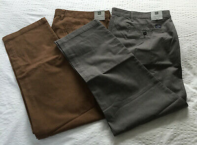 Mens M/&S Collection Sizes 40 42 Slim Fit Trousers