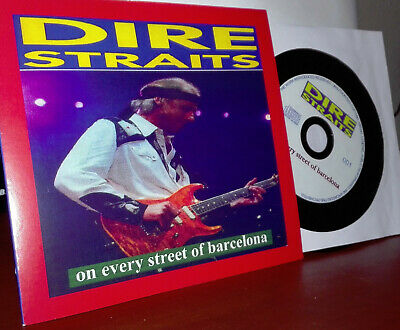 Dire Straits-Cd Sencillo-On Every Street Of Barcelona-Live 1992 Rare