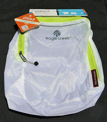 NWT Eagle Creek Pack-It Specter Half Cube  White+Strobe Green Translucent