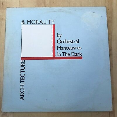Orchestral Manoeuvres In The Dark - Architecture & Morality (Vinyl LP) EX/VG