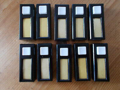 Lot of 10 pcs vintage bakelite push-buttons switch door bell new old stock
