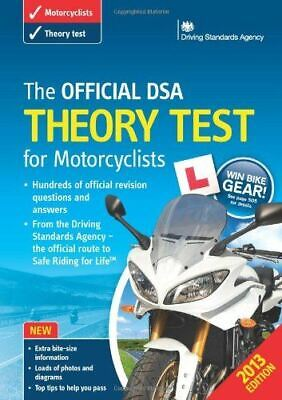 Very Good, The Official DSA Theory Test for Motorcyclists Book 2013 edition, Dri