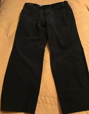 "Marks & Spencer Luxury Collection Tailored Olive Brown Trousers Waist 34"" L 31"""