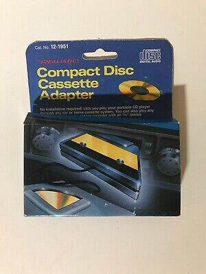 Realistic Compact Disc Cassette Adapter