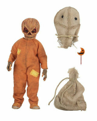 "NECA TRICK R TREAT 8"" Scale clothed SAM action figure"