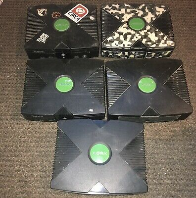 Lot of 5 Original XBOX Console Systems