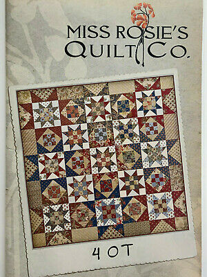 Miss Rosie's Quilt Co - 4 O T -- Patchwork/Quilting Pattern
