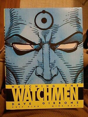 Watching The Watchmen Graphic Novel Companion Comic Book Hardcover Art Book New