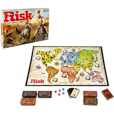 Risk Board Game Hasbro Strategic Family Fun NEW
