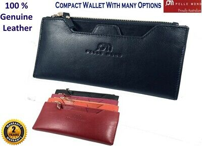 New Womens Genuine Leather Wallet Card Holder Ladies Coin Purse For Iphone 678