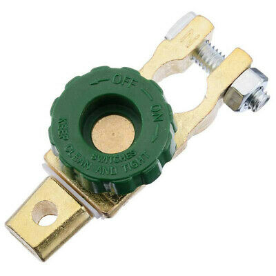 Universal Battery Link Terminal Switch Quick Cut-off Disconnect Master Switch
