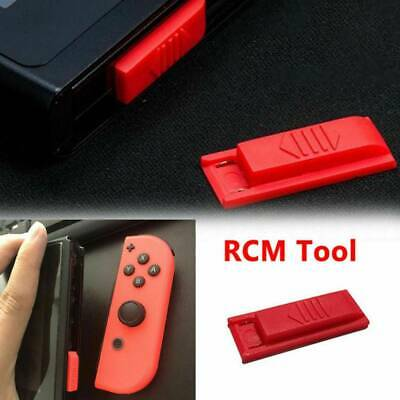 For Nintendo Switch RCM / NS SX OS Recovery Mode JIG Joycon Mod Hack Keyring New