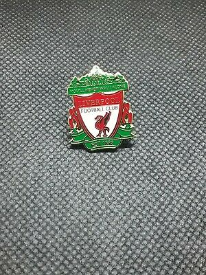 Liverpool pin badge you will never walk alone with flames New