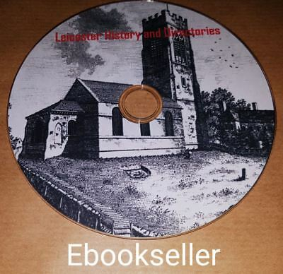 ebooks on disc Leicester History /& Leicestershire directories ebooks in pfd 40