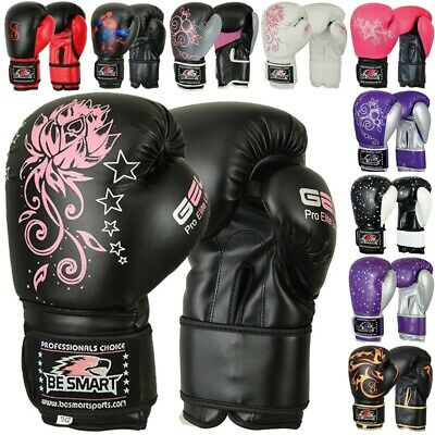 Beginners Rex Leather Boxing Mma Muay Thai Kick Boxing Sparring Gloves Mma