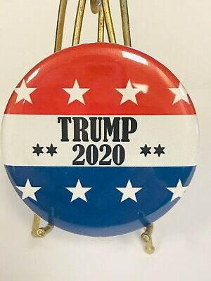 """2020 Donald Trump For President  2.25"""" Campaign Button - Show Your Support"""