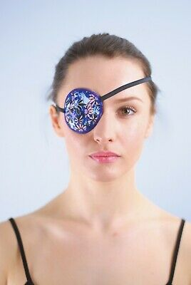 Flowers - Medical Adult Eye Patch, Soft and Washable