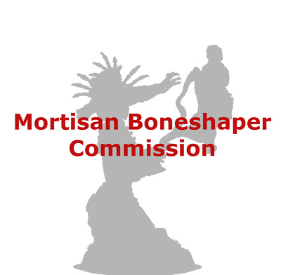Age of Sigmar  Ossiarch Bonereapers Mortisan Boneshaper Commission Painted