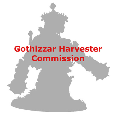 AoS Ossiarch Bonereapers Gothizzar Harvester Commission Painted
