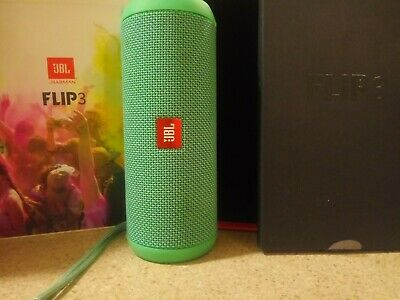 JBL Flip 3 Waterproof Portable Bluetooth Speaker (TEAL) JBLFLIP3