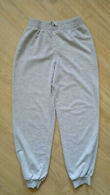girl's YD grey jogging trousers polyester blend age 12-13 years