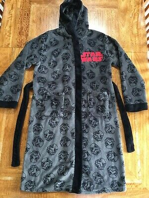 M&S Star Wars Dressing Gown Age 11-12