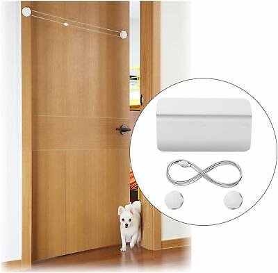 Pet Door Safety Gate Automatic Gate for Dogs Cats