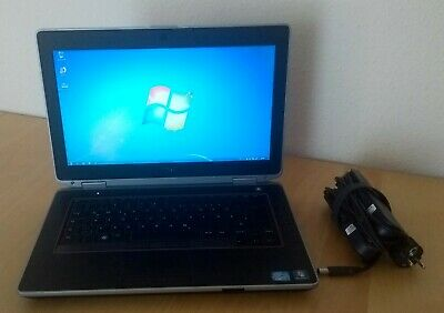 DELL i7 8GB 240GB SSD Lattitude E6420 Notebook Windows 10 Pro Laptop WLAN eSATA.