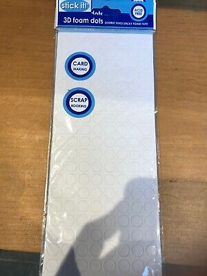 Stick it! Double Sided Adhesive 3D Foam Dots - Acid Free