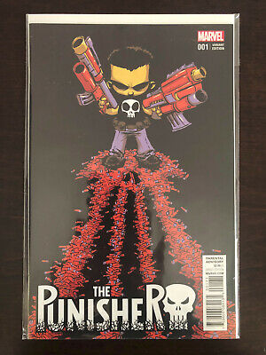 The Punisher #1 Skottie Young Variant Nm+ Marvel Comics