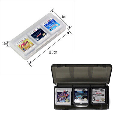 6 in1 Plastic Game Card Storage Holder Case Cover Box 3DS DSI DS NDS  T wyP0UK