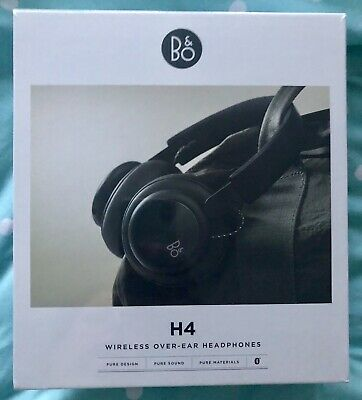 B&O Play by Bang & Olufsen Beoplay H4 Over Ear Bluetooth Headphones Black